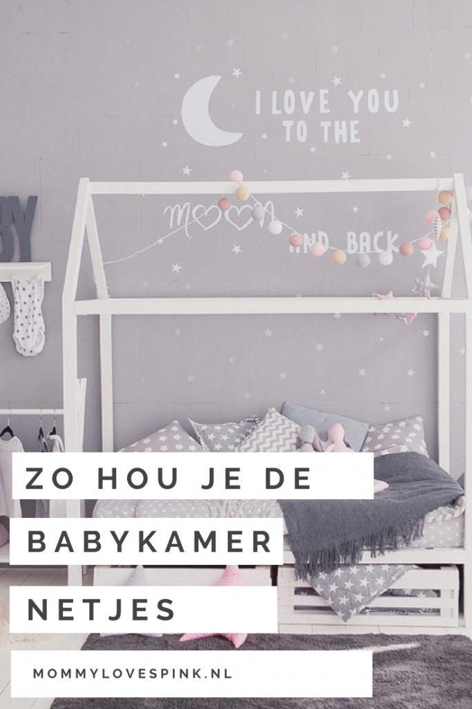 Zo houd je de babykamer netjes