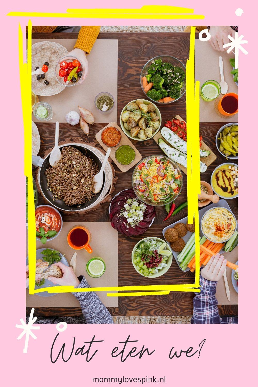 wat eten we als mama op dieet is?