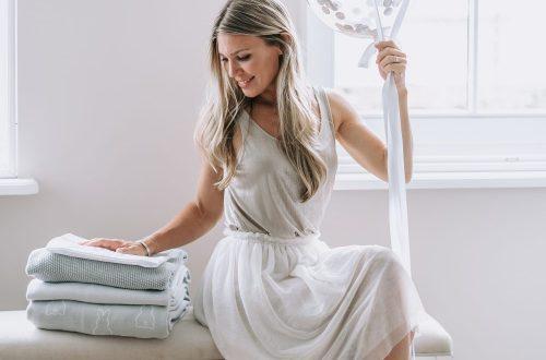 AnneMarieKeizer lanceert haar 'Meyco X Mrs. Keizer baby collectielijn'.